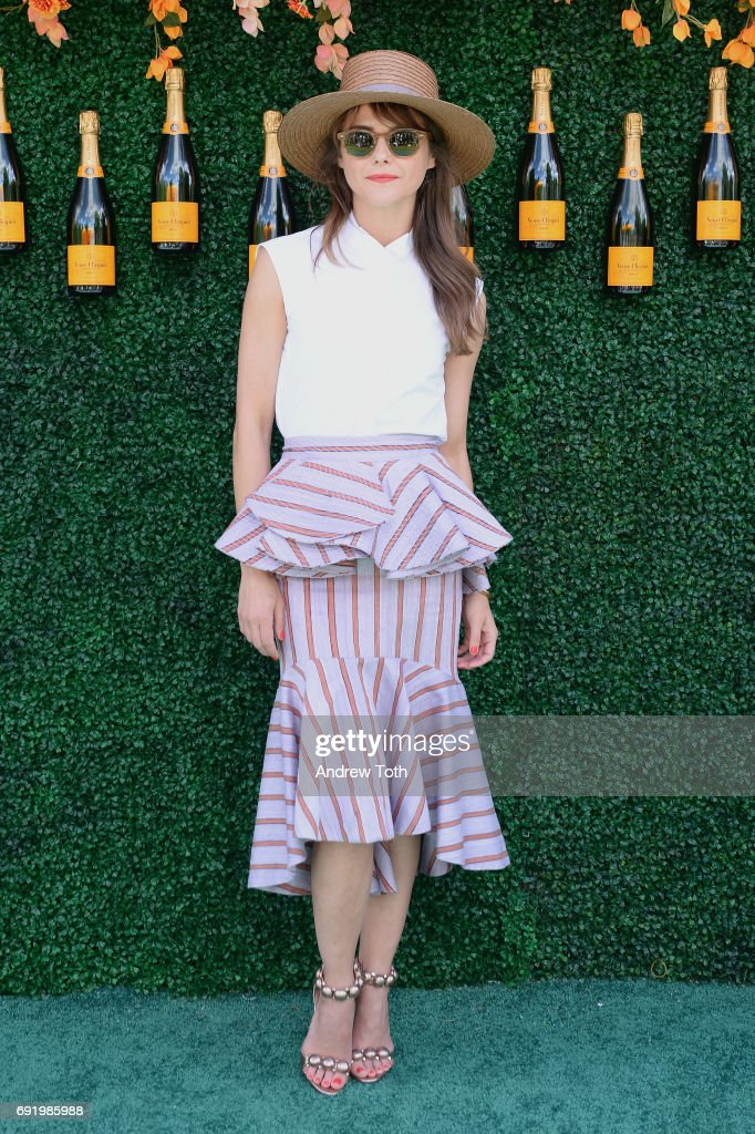 Actress Keri Russell attends The Tenth Annual Veuve Clicquot Polo Classic at Liberty State Park on June 3, 2017 in Jersey City, New Jersey.