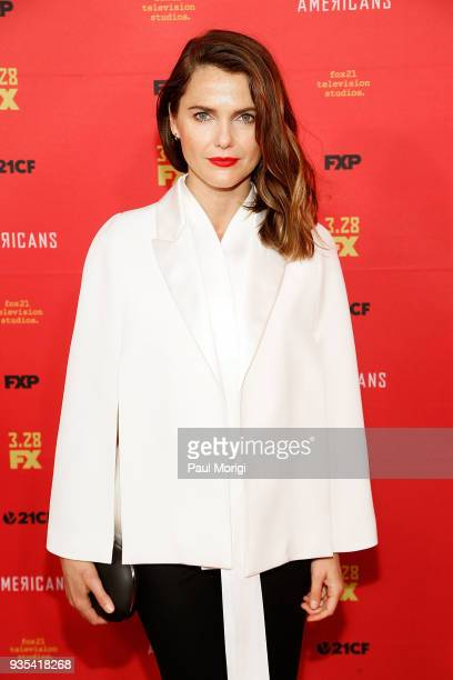 Actress Keri Russell attends the Washington DC Premiere of FX Networks' The Americans at The Newseum on March 20 2018 in Washington DC