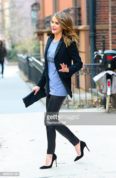 Actress Keri Russell is seen in Brooklyn on March 16 2015 in New York City