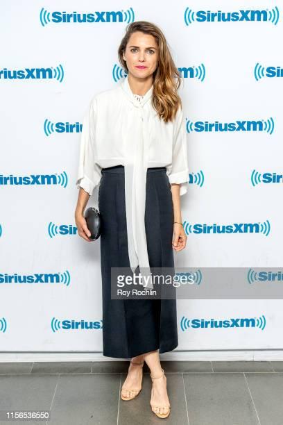 Actress Keri Russell visits SiriusXM Studios on June 17, 2019 in New York City.