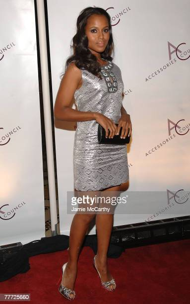 Actress Keri Washington attends the 11th Annual ACE Awards at Cipriani 42 on November 5, 2007 in New York City.