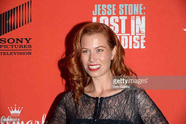 """Actress Kerri Smith attends the """"Jess Stone: Lost In Paradise"""" New York Premiere at Roxy Hotel on October 14, 2015 in New York City."""