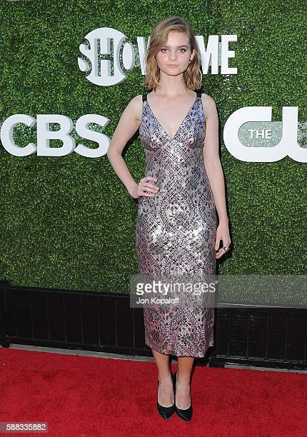 Actress Kerris Dorsey arrives at CBS CW Showtime Summer TCA Party at Pacific Design Center on August 10 2016 in West Hollywood California
