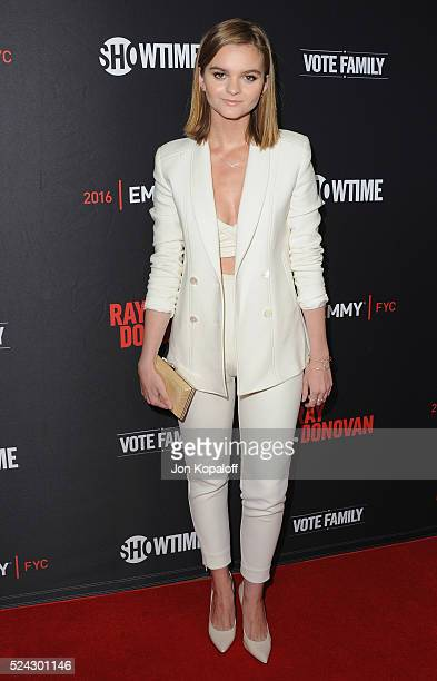 Actress Kerris Dorsey arrives at For Your Consideration Screening And Panel For Showtime's 'Ray Donovan' at Paramount Theatre on April 25 2016 in...