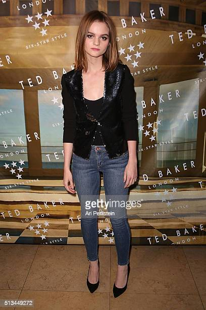 Actress Kerris Dorsey arrives at Ted Baker London SS'16 Launch Event at Sunset Tower Hotel on March 2 2016 in West Hollywood California