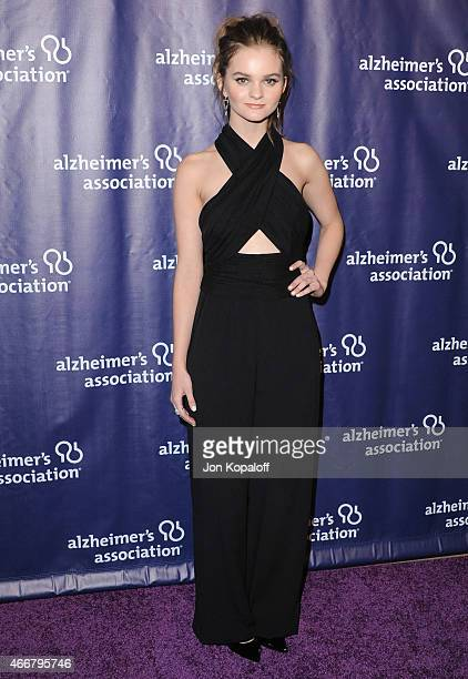Actress Kerris Dorsey arrives at the 23rd Annual 'A Night At Sardi's' To Benefit The Alzheimer's Association at The Beverly Hilton Hotel on March 18...