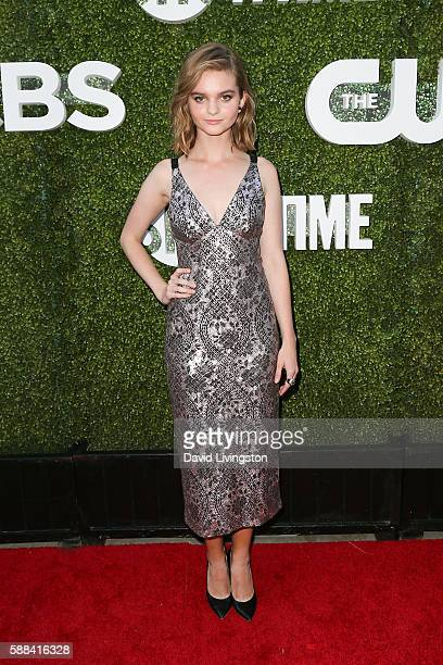 Actress Kerris Dorsey arrives at the CBS CW Showtime Summer TCA Party at the Pacific Design Center on August 10 2016 in West Hollywood California