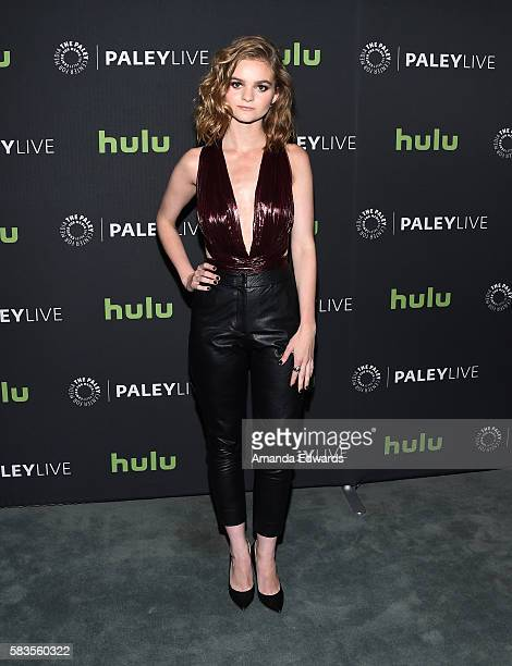 Actress Kerris Dorsey arrives at the PaleyLive LA An Evening With Ray Donovan event at The Paley Center for Media on July 26 2016 in Beverly Hills...