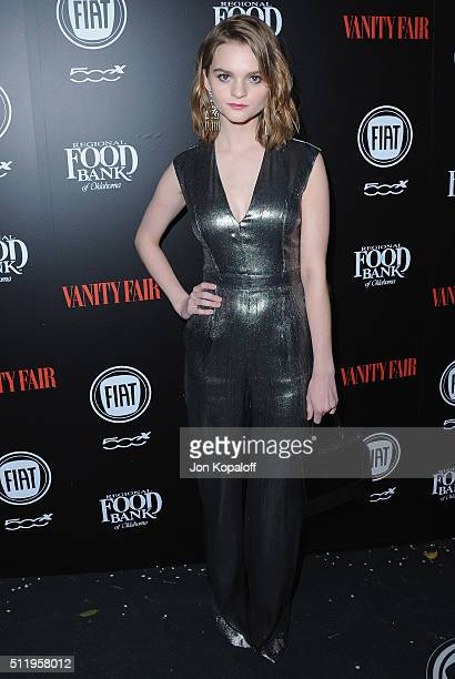 Actress Kerris Dorsey arrives at Vanity Fair And FIAT Toast To 'Young Hollywood' at Chateau Marmont on February 23 2016 in Los Angeles California