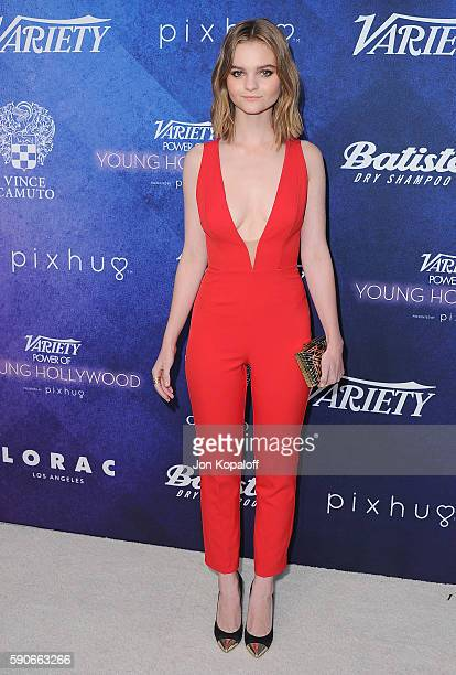 Actress Kerris Dorsey arrives at Variety's Power Of Young Hollywood at NeueHouse Hollywood on August 16 2016 in Los Angeles California