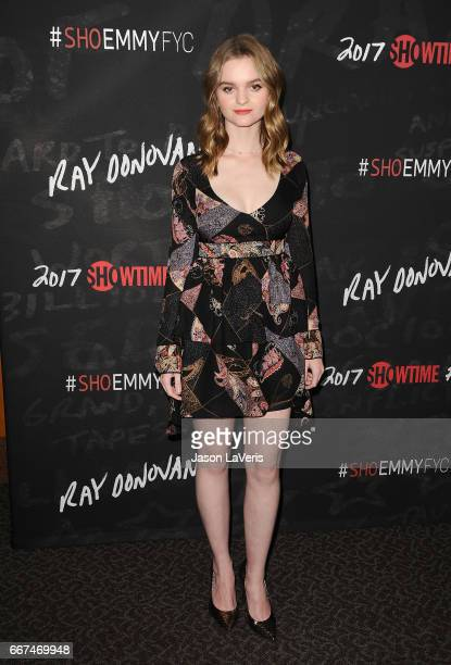 Actress Kerris Dorsey attends Showtime's 'Ray Donovan' season 4 FYC event at DGA Theater on April 11 2017 in Los Angeles California