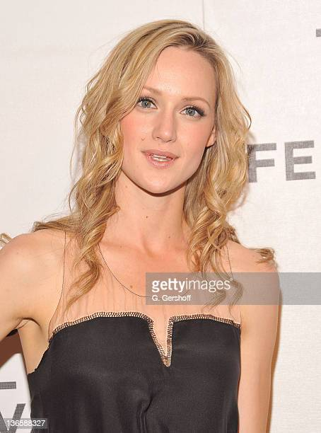 Actress Kerry Bishe attends the premiere of 'Newlyweds' during the 10th annual Tribeca Film Festival at BMCC Tribeca PAC on April 30 2011 in New York...