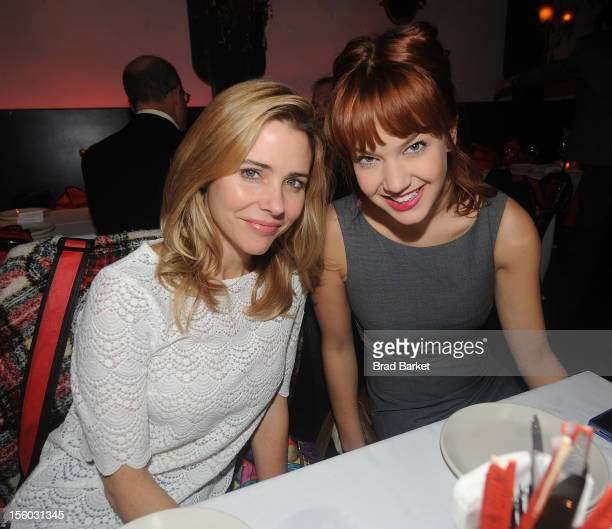 Actress Kerry Butler and Lauren Zakrin attend The 2012 TRU Love Benefit at Lucky Cheng's on November 11 2012 in New York City