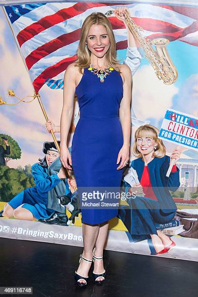 Actress Kerry Butler attends Clinton The Musical Opening Night at New World Stages on April 9 2015 in New York City