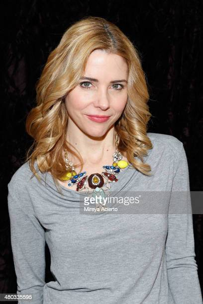 Actress Kerry Butler attends the Under My Skin Cast Meet Greet on March 24 2014 in New York City