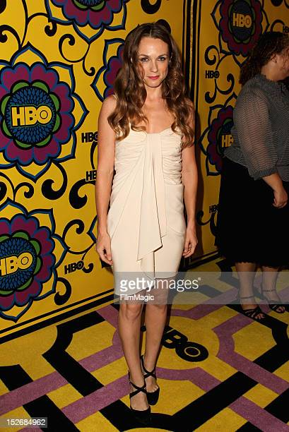 Actress Kerry Condon arrives at HBO's Official After Party at The Plaza at the Pacific Design Center on September 23 2012 in Los Angeles California