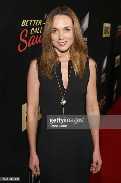Actress Kerry Condon attends Better Call Saul Season 2 Premiere at Arclight Cinemas Culver City on February 2 2016 in Culver City California