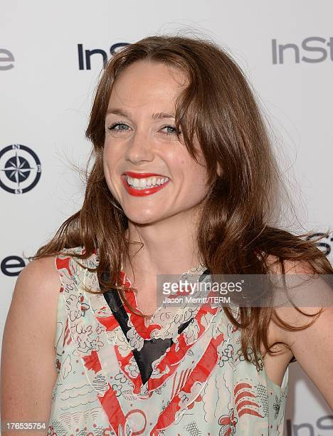 Actress Kerry Condon attends the InStyle Summer Soiree held Poolside at the Mondrian hotel on August 14 2013 in West Hollywood California