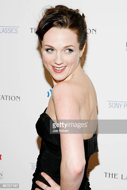 Actress Kerry Condon attends The Last Station premiere at the Paris Theatre on January 11 2010 in New York City