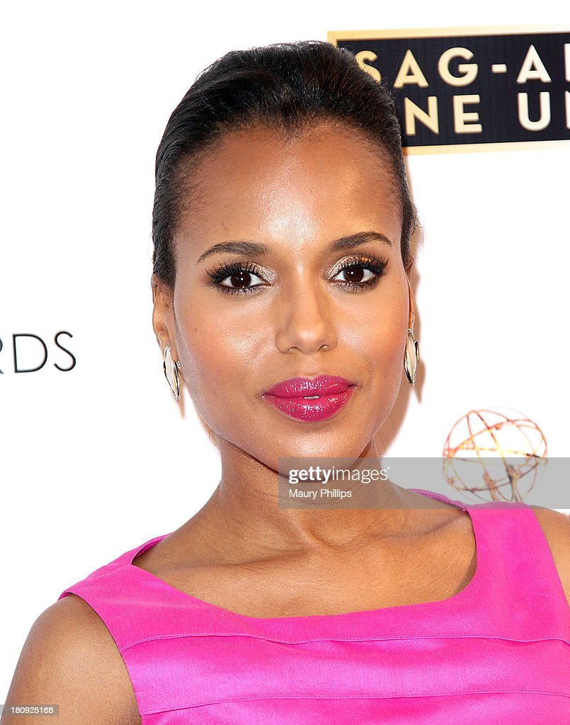 Actress Kerry Washington arrives at Dynamic & Diverse - A 65th Emmy Awards Nominee celebration at Academy of Television Arts & Sciences on September 17, 2013 in North Hollywood, California.