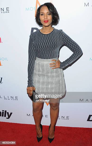 Actress Kerry Washington arrives at The Daily Front Row's 1st Annual Fashion Los Angeles Awards at Sunset Tower Hotel on January 22 2015 in West...