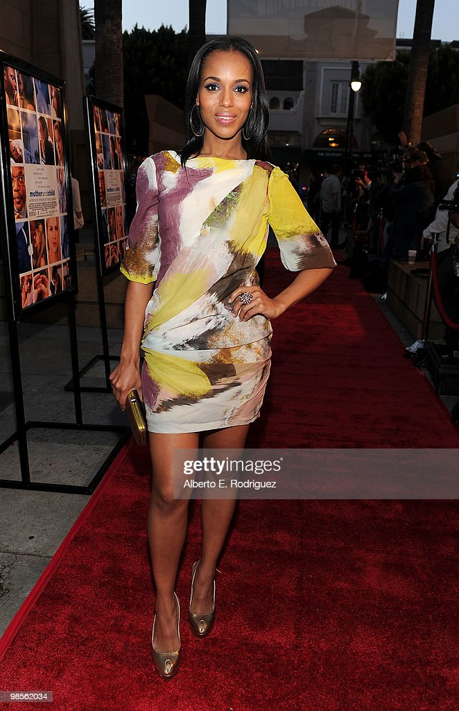 Actress Kerry Washington arrives at the premiere of Sony Pictures Classics' 'Mother And Child' held at the Egyptian Theatre on April 19, 2010 in Hollywood, California.
