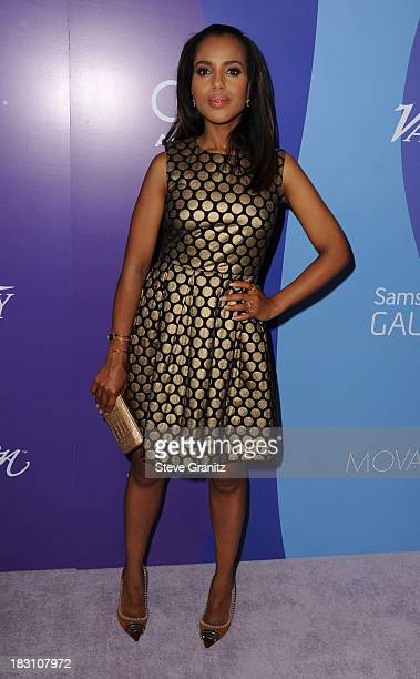 Actress Kerry Washington arrives at Variety's 5th Annual Power of Women event presented by Lifetime at the Beverly Wilshire Four Seasons Hotel on...
