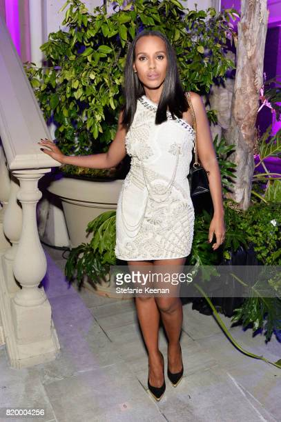 Actress Kerry Washington at BALMAIN celebrates first Los Angeles boutique opening and Beats by Dre collaboration on July 20 2017 in Beverly Hills...