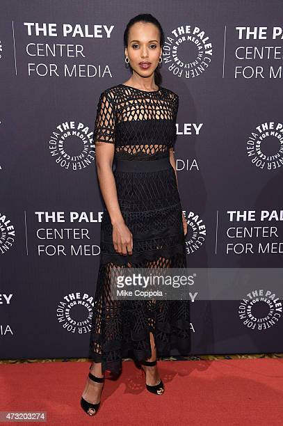 Actress Kerry Washington attends A Tribute To AfricanAmerican Achievements In Television hosted by The Paley Center For Media at Cipriani Wall Street...