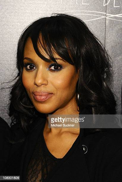 Actress Kerry Washington attends Bing Presents 'The Details' Official Cast Dinner and AfterParty on January 24 2011 in Park City Utah