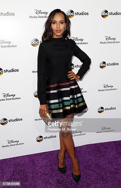 Actress Kerry Washington attends Disney Media Disribution International Upfronts at Walt Disney Studios on May 17 2015 in Burbank California