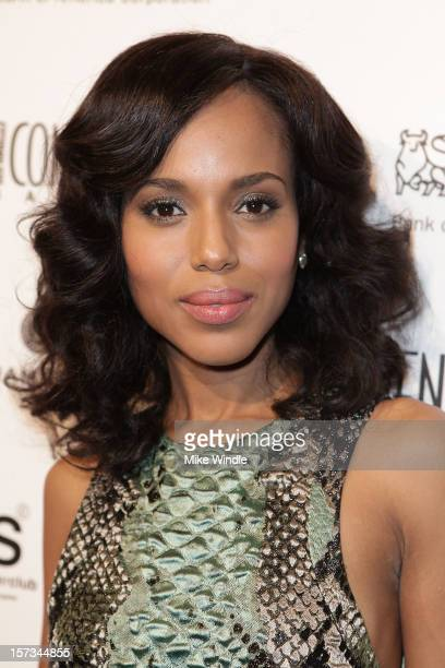 Actress Kerry Washington attends Los Angeles Confidential Celebrates 10th Anniversary presented by Merrill Lynch Wealth Management at SupperClub Los...