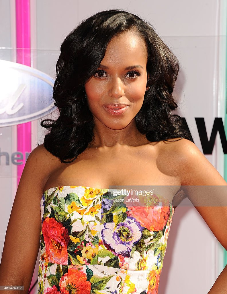 Actress Kerry Washington attends the 2014 BET Awards at Nokia Plaza L.A. LIVE on June 29, 2014 in Los Angeles, California.
