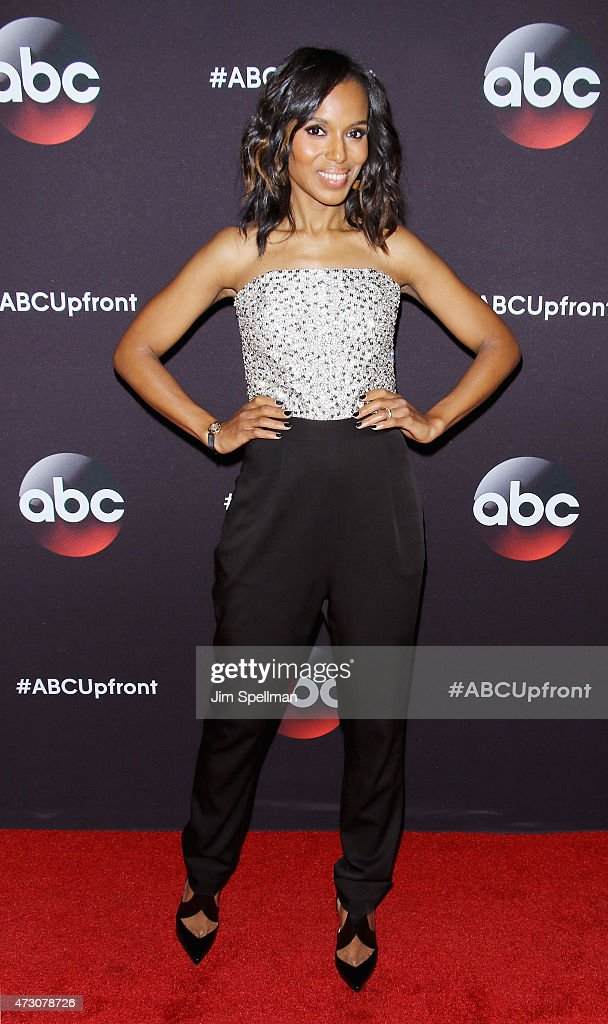 Actress Kerry Washington attends the 2015 ABC upfront presentation at Avery Fisher Hall at Lincoln Center for the Performing Arts on May 12, 2015 in New York City.