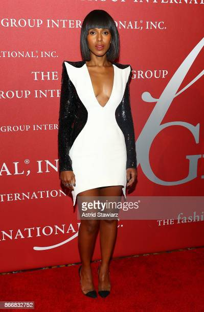 Actress Kerry Washington attends the 2017 FGI Night Of Stars Modern Voices gala at Cipriani Wall Street on October 26 2017 in New York City