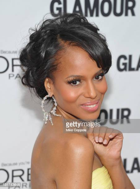 Actress Kerry Washington attends the 21st annual Glamour Women of the Year Awards at Carnegie Hall on November 7 2011 in New York City