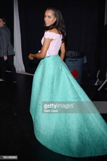 Actress Kerry Washington attends the 44th NAACP Image Awards at The Shrine Auditorium on February 1 2013 in Los Angeles California