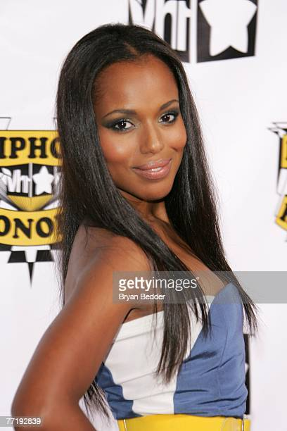 Actress Kerry Washington attends the 4th Annual VH1 Hip Hop Honors ceremony at the Hammerstein Ballroom on October 4 2007 in New York City
