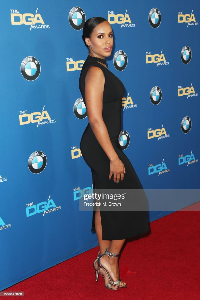 Actress Kerry Washington attends the 69th Annual Directors Guild of America Awards at The Beverly Hilton Hotel on February 4, 2017 in Beverly Hills, California.