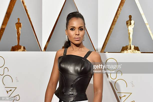 Actress Kerry Washington attends the 88th Annual Academy Awards at Hollywood Highland Center on February 28 2016 in Hollywood California