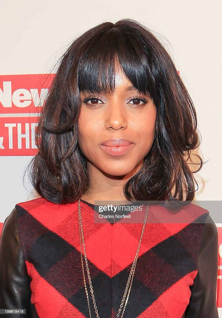 Actress Kerry Washington attends The Daily Beast Bi-Partisan Inauguration Brunch at Cafe Milano on January 20, 2013 in Washington, DC.