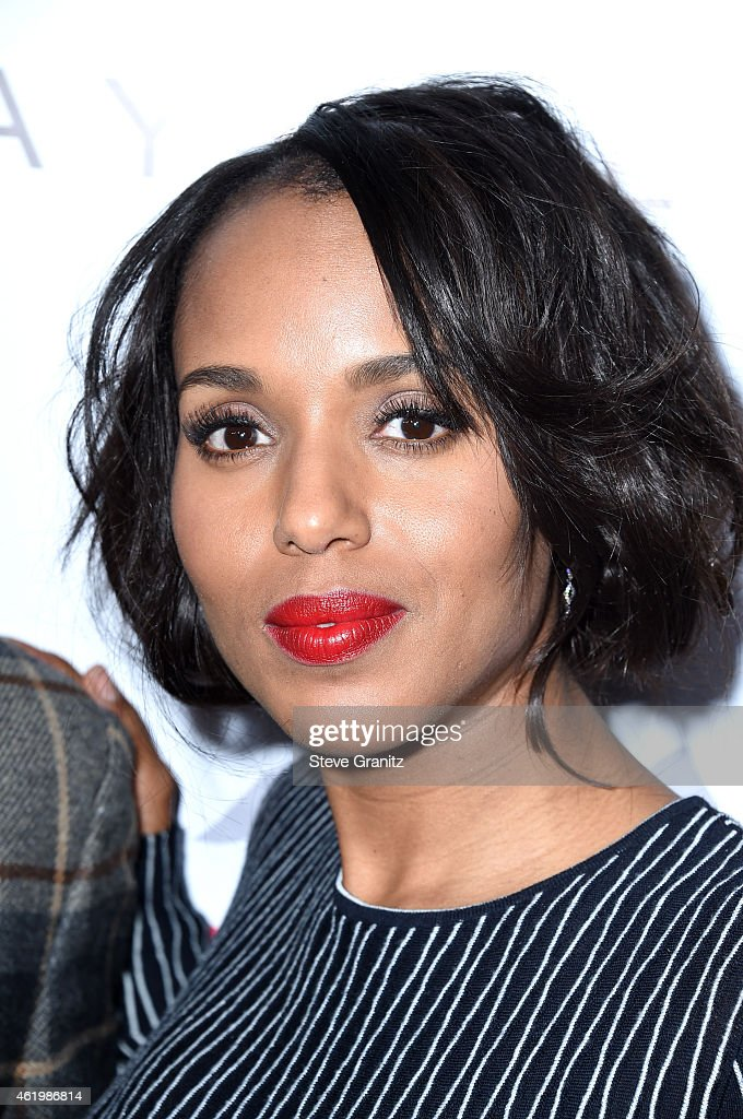 Actress Kerry Washington attends The Daily Front Row's 1st Annual Fashion Los Angeles Awards at Sunset Tower Hotel on January 22, 2015 in West Hollywood, California.