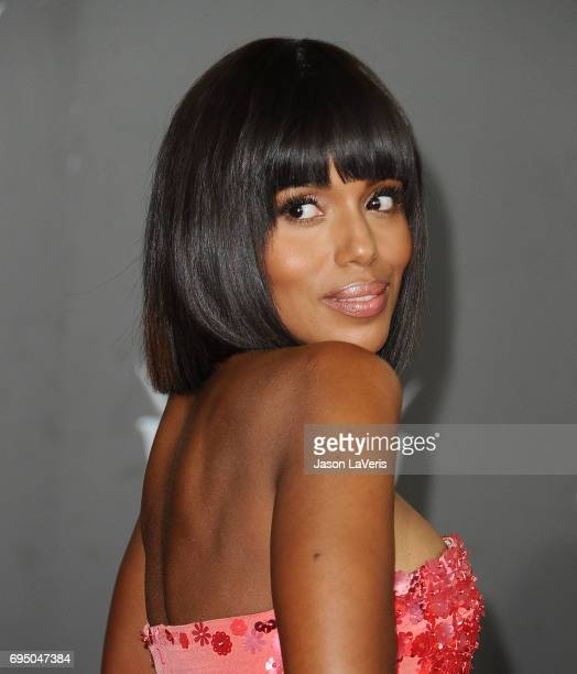 Actress Kerry Washington attends the premiere of 'Cars 3' at Anaheim Convention Center on June 10 2017 in Anaheim California