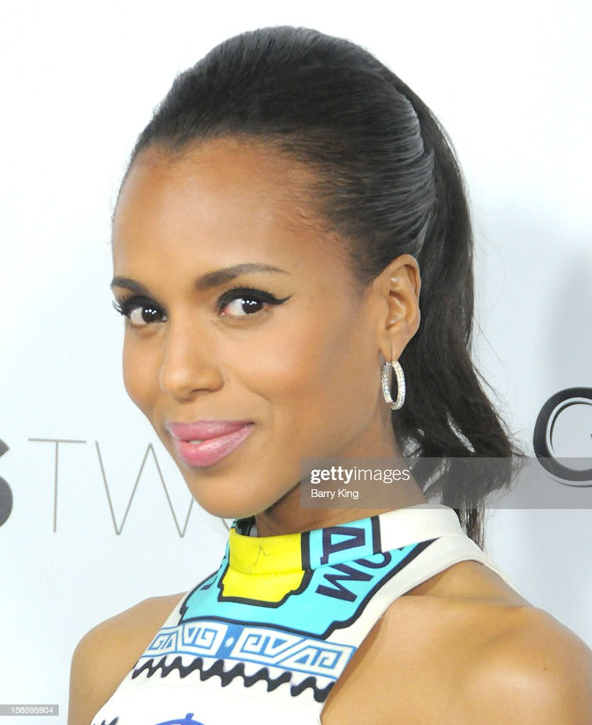Actress Kerry Washington attends the premiere of 'The Details' t ArcLight Cinemas on October 29, 2012 in Hollywood, California.