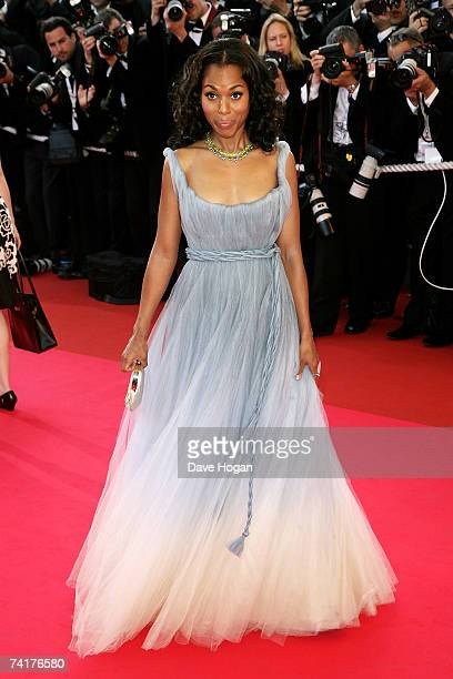 Actress Kerry Washington attends the premiere of the movie 'Zodiac' at the Palais des Festivals during the 60th International Cannes Film Festival on...