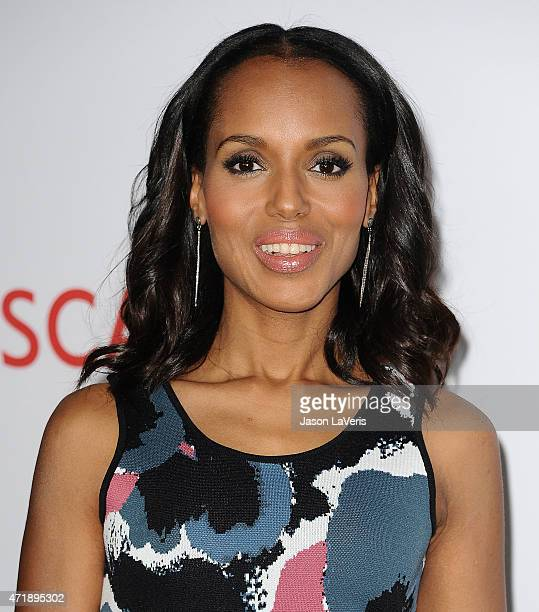 Actress Kerry Washington attends the Scandal ATAS event at Directors Guild of America on May 1 2015 in Los Angeles California