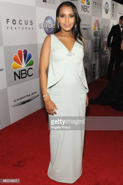 Actress Kerry Washington attends the Universal NBC Focus Features E sponsored by Chrysler viewing and after party with Gold Meets Golden held at The...