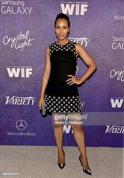 Actress Kerry Washington attends Variety and Women in Film Emmy Nominee Celebration powered by Samsung Galaxy on August 23 2014 in West Hollywood...