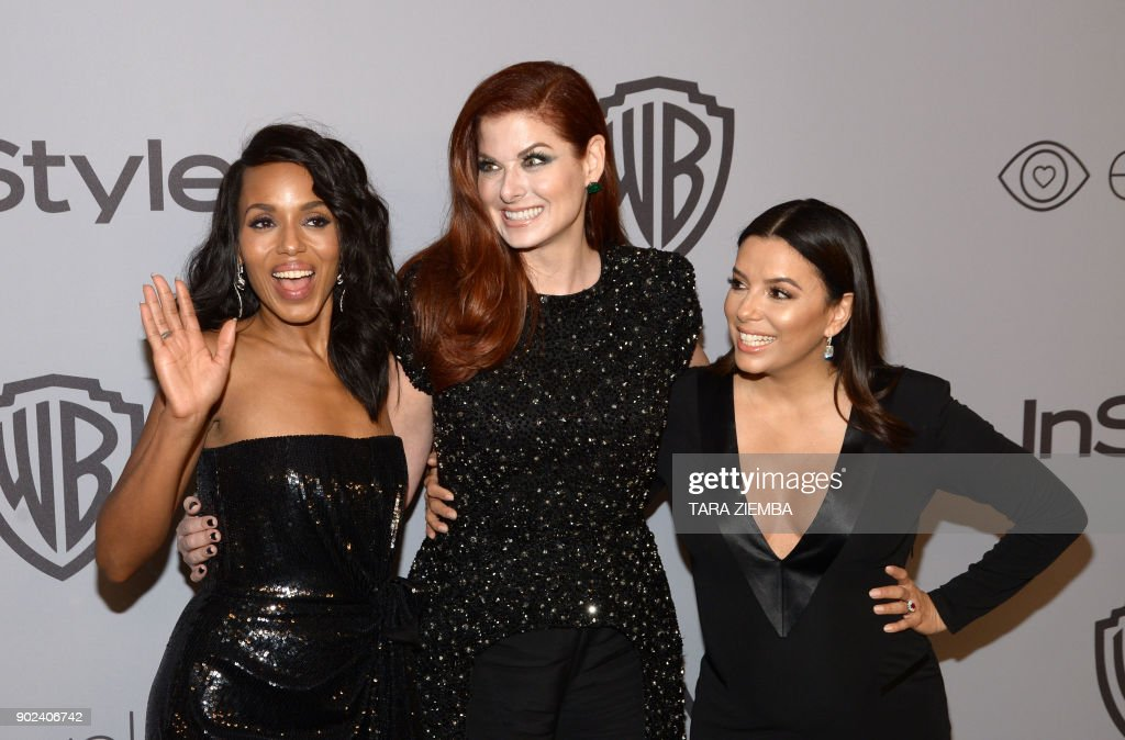 US-ENTERTAINMENT-GOLDEN-GLOBE-AFTERPARTY : News Photo