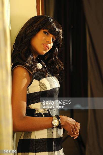Actress Kerry Washington is photographed for Los Angeles Times on December 15 2012 in New York City
